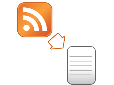 plugin flux RSS en articles